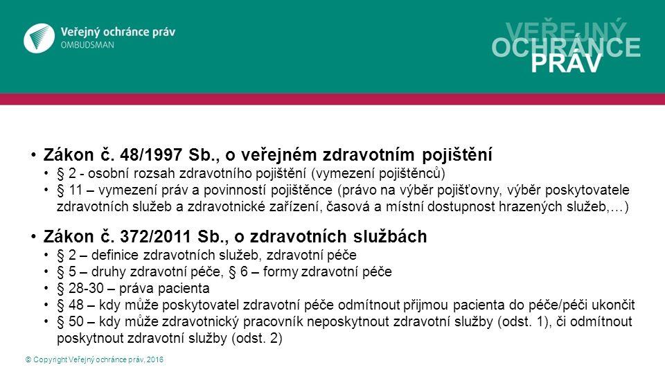 Podzákonné předpisy © Copyright Veřejný ochránce práv, 2016 vyhláška č.
