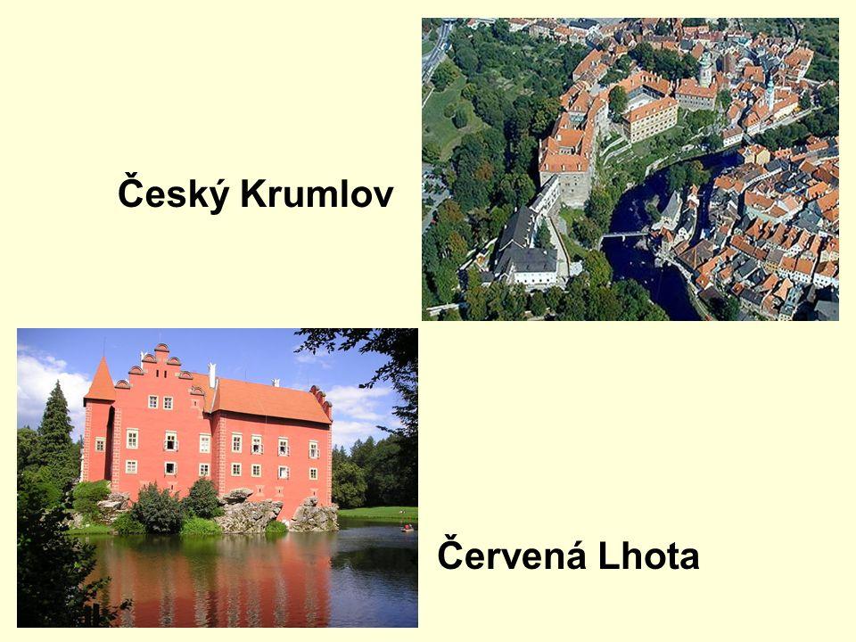 Český Krumlov Červená Lhota