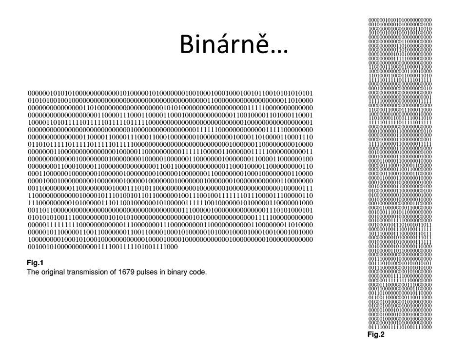 Binárně…