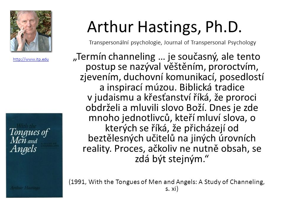 Arthur Hastings, Ph.D.