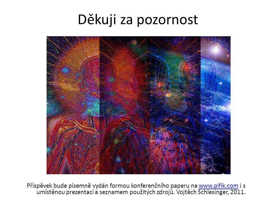Děkuji za pozornost Příspěvek bude písemně vydán formou konferenčního paperu na www.pifik.com i s umístěnou prezentací a seznamem použitých zdrojů. Vo