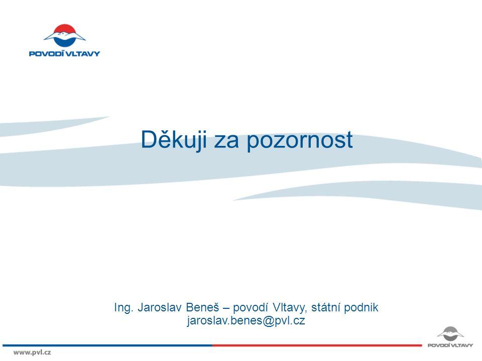 8/9/12 Děkuji za pozornost Ing. Jaroslav Beneš – povodí Vltavy, státní podnik jaroslav.benes@pvl.cz