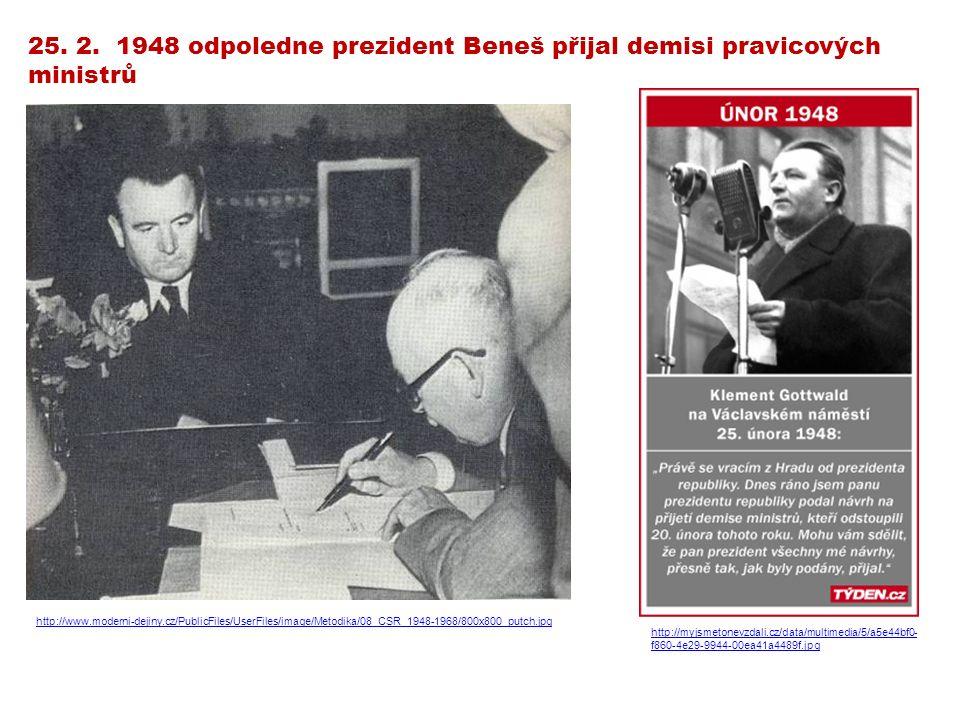 Těžké poválečné podmínky a role SSSR při osvobozování Československa přispěly k příklonu obyvatelstva k levici.