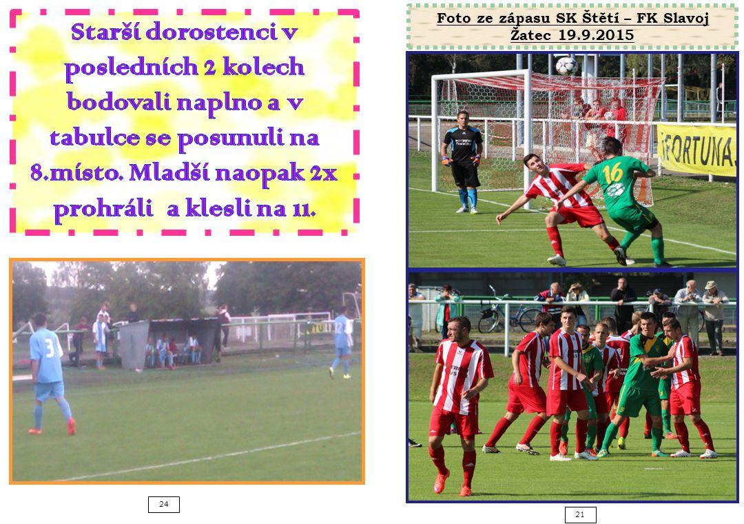 21 24 Foto ze zápasu SK Štětí – FK Slavoj Žatec 19.9.2015