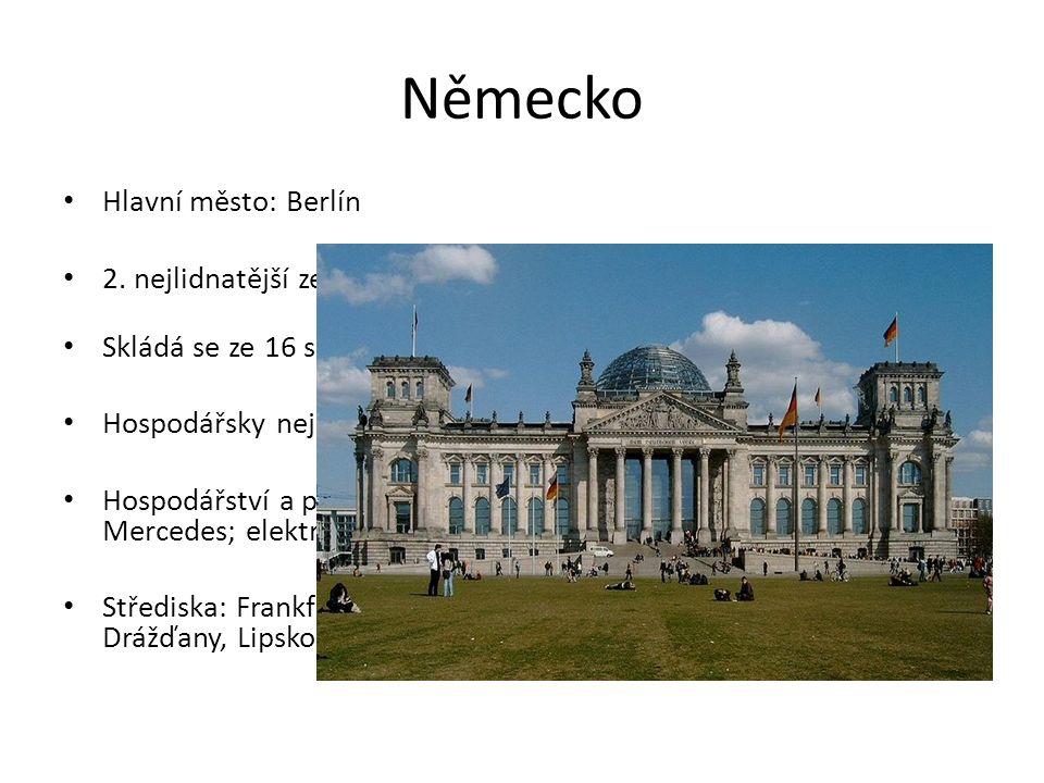 Německo Hlavní město: Berlín 2.