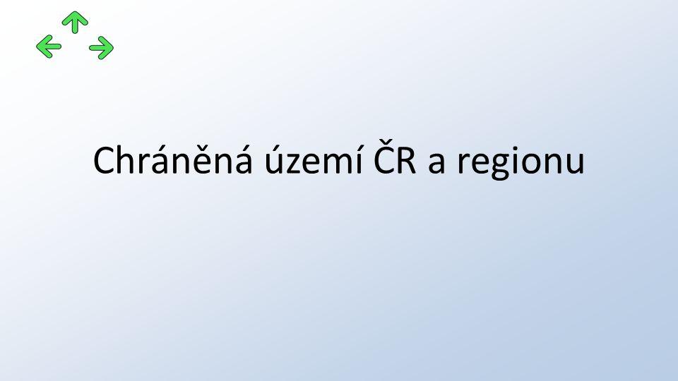 Chráněná území ČR a regionu