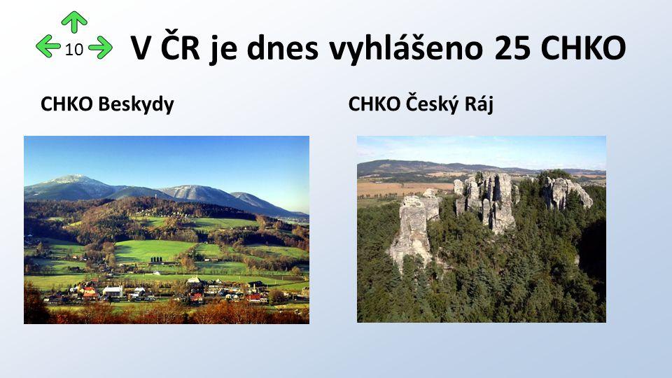 CHKO BeskydyCHKO Český Ráj 10