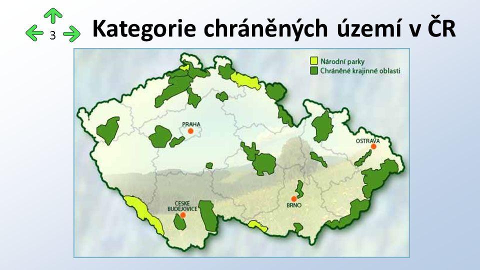Kategorie chráněných území v ČR 3