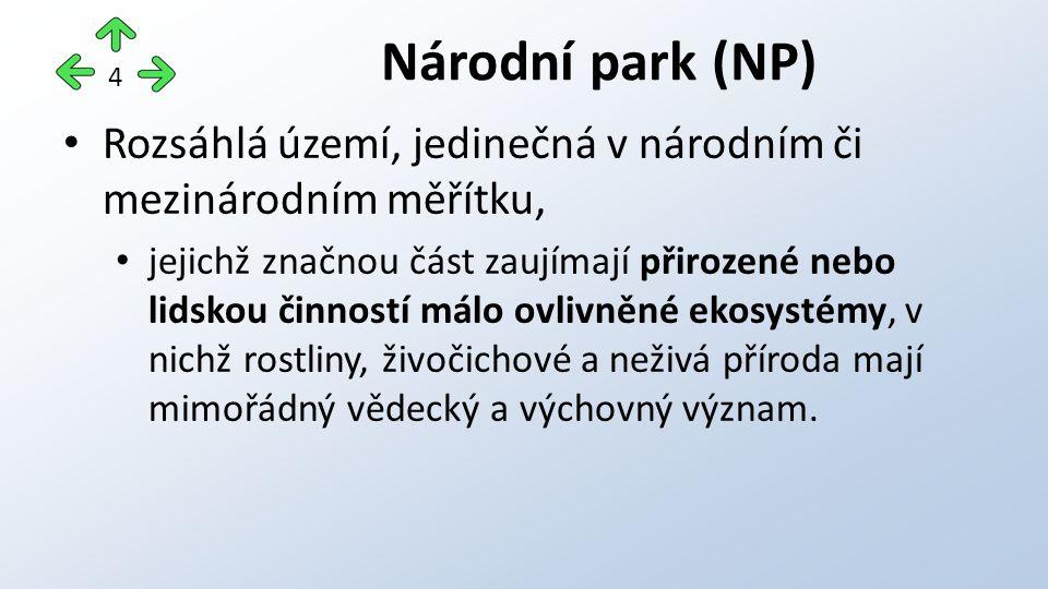 Veškeré využití národních parků musí být: podřízeno zachování a zlepšení přírodních poměrů a musí být v souladu s vědeckými a výchovnými cíli sledovanými jejich vyhlášením.