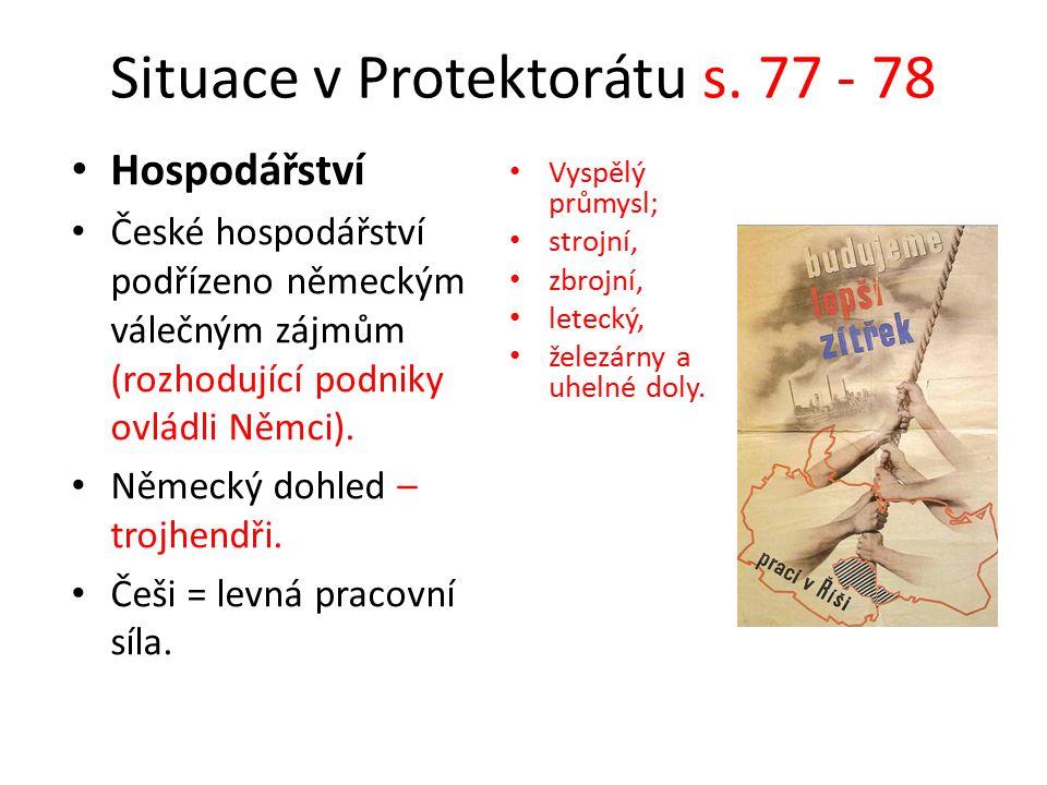 Situace v Protektorátu s.