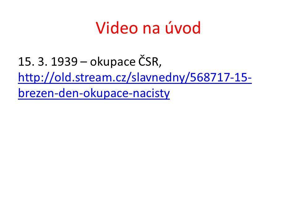 Video na úvod 15. 3.