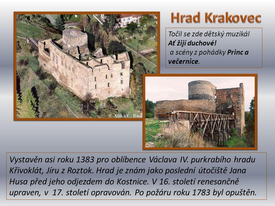 Vystavěn asi roku 1383 pro oblíbence Václava IV. purkrabího hradu Křivoklát, Jíru z Roztok. Hrad je znám jako poslední útočiště Jana Husa před jeho od