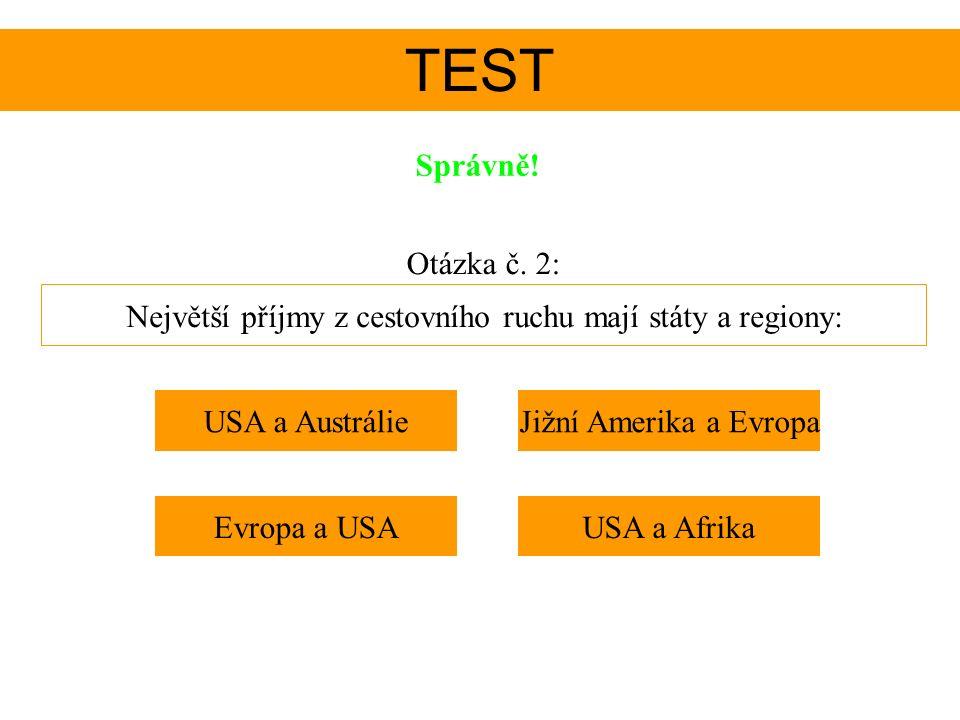 TEST Správně.