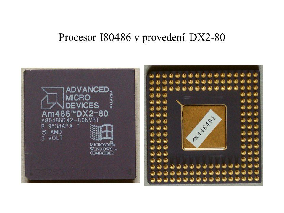 Procesor I80486 v provedení DX2-80