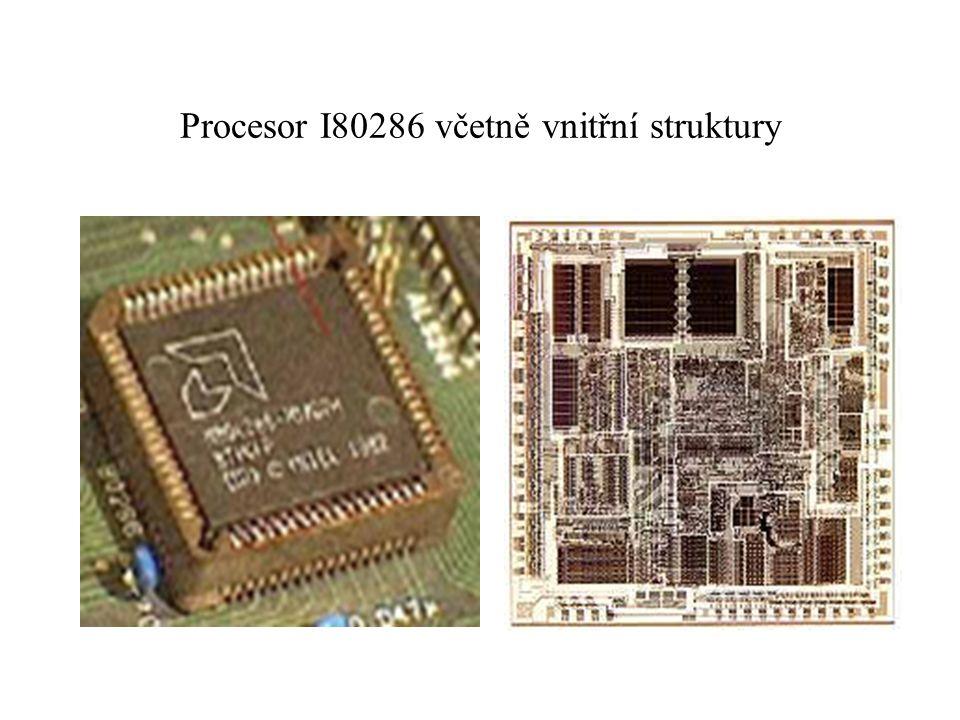 Procesor I80286 včetně vnitřní struktury