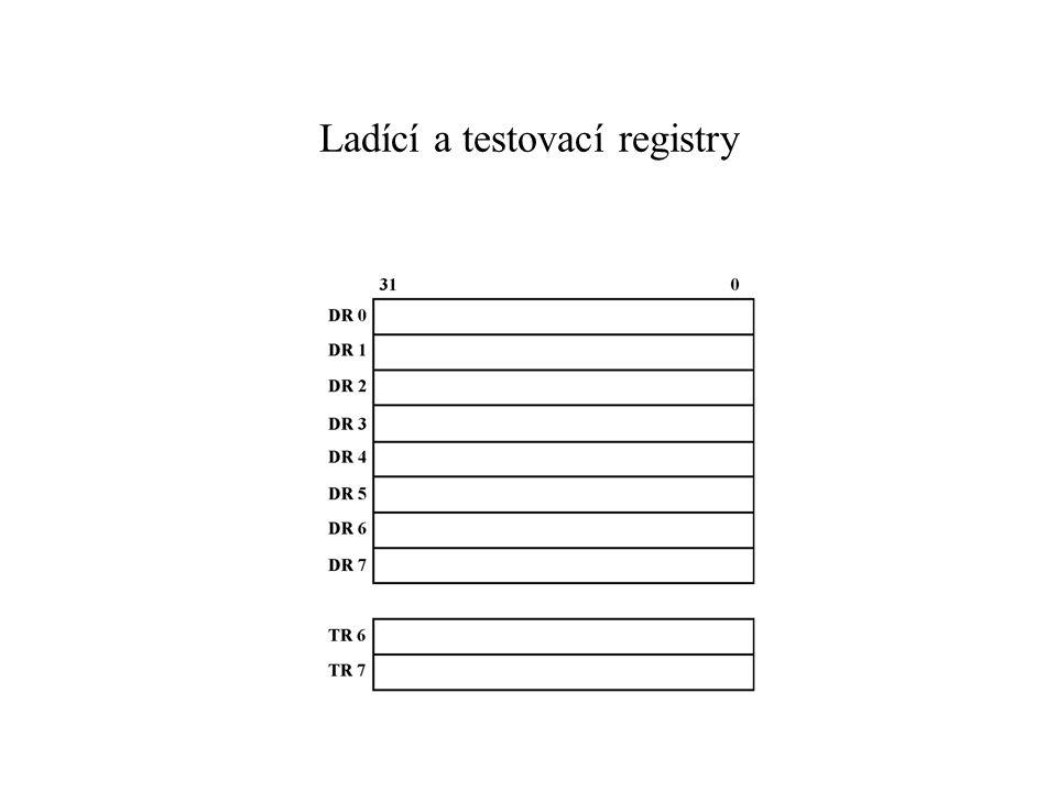 Ladící a testovací registry