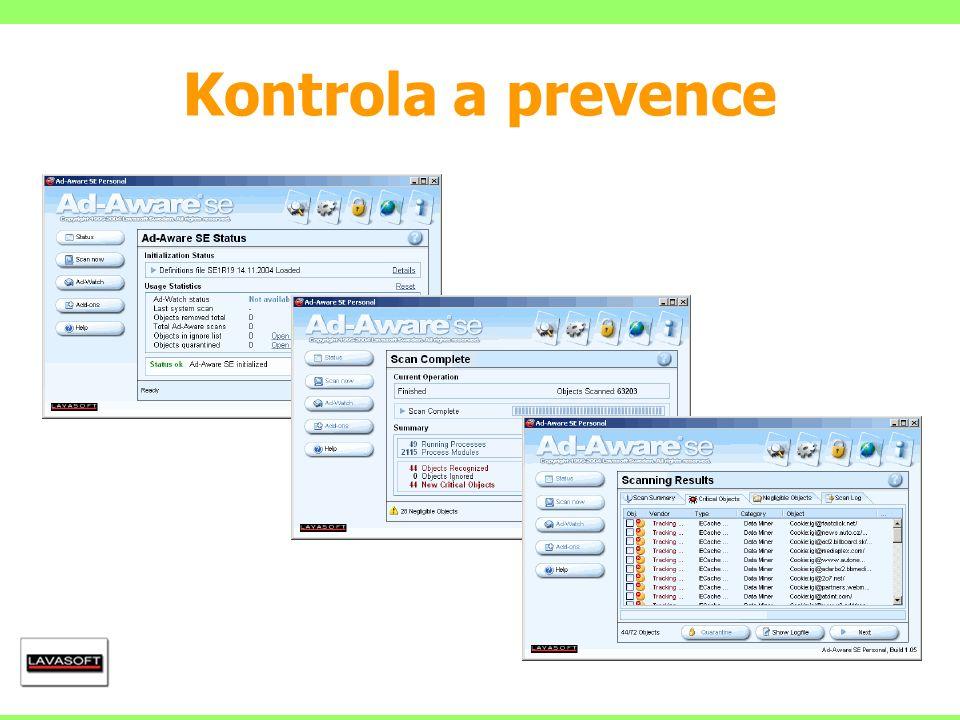 Kontrola a prevence