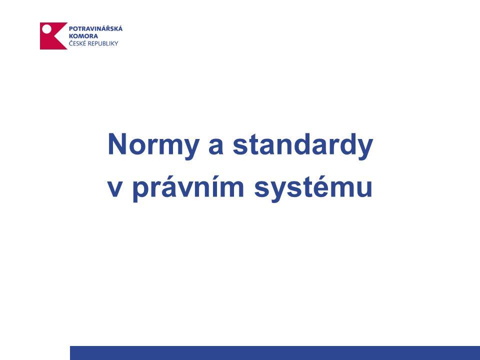 Normy a standardy v právním systému