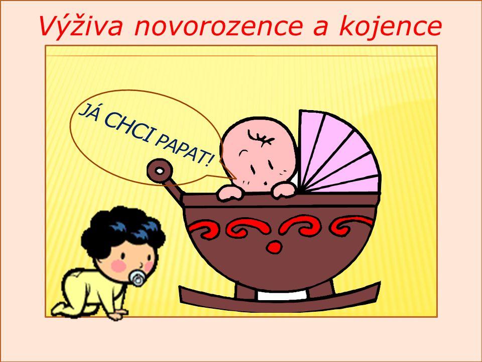 N Výživa novorozence a kojence JÁ CHCI PAPAT!