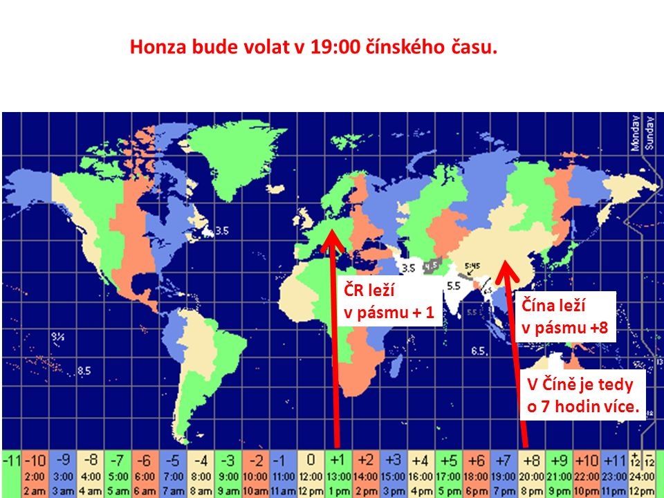 Honza bude volat v 19:00 čínského času.