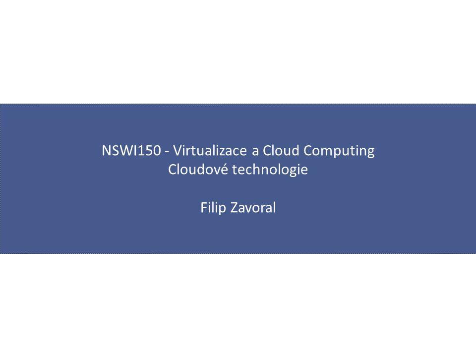 Web Sites  Web Sites / Web Apps  webová aplikace na různých platformách  jedno z nejčastějších využití cloudových infrastruktur  ideální podmínky pro nasazení v cloudu  nepredikovatelné škálovatelnost  lze i pomocí virtual machines  zbytečně složité  nutná vlastní instalace, konfigurace a údržba