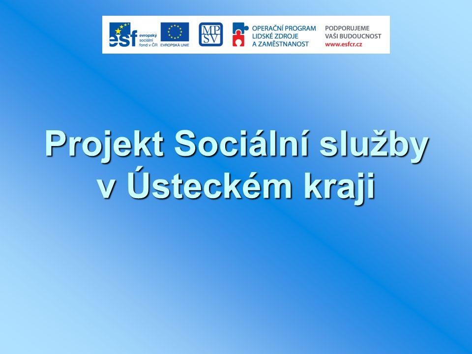 Projekt Sociální služby v Ústeckém kraji