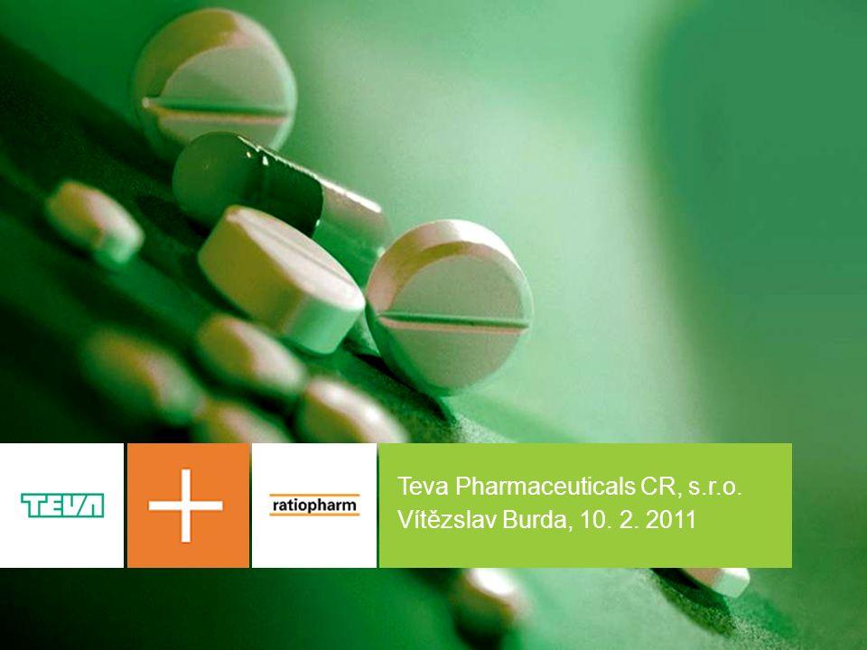 1 Teva Pharmaceuticals CR, s.r.o. Vítězslav Burda, 10. 2. 2011