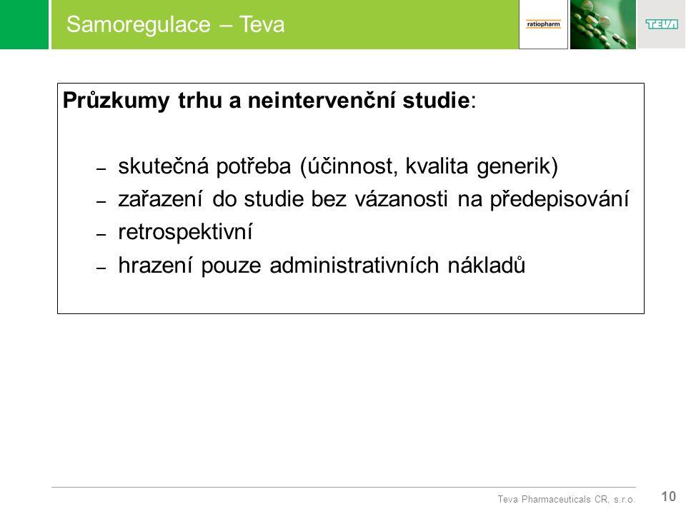 10 Teva Pharmaceuticals CR, s.r.o.