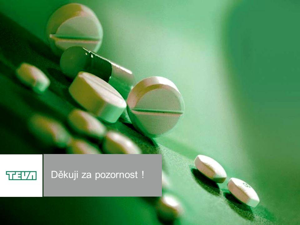 12 Teva Pharmaceuticals CR, s.r.o. Děkuji za pozornost !