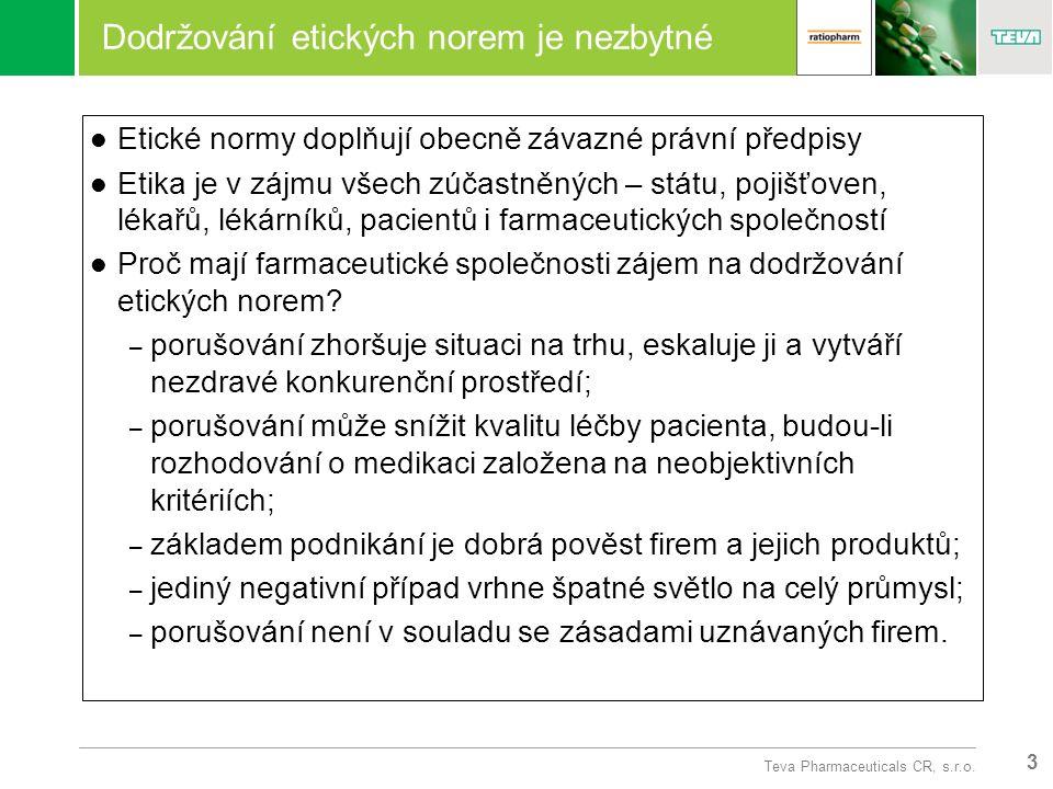 3 Teva Pharmaceuticals CR, s.r.o.