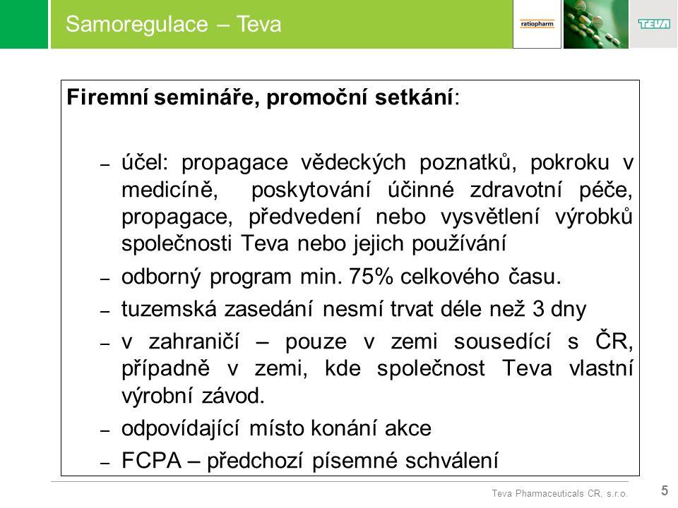 5 Teva Pharmaceuticals CR, s.r.o.