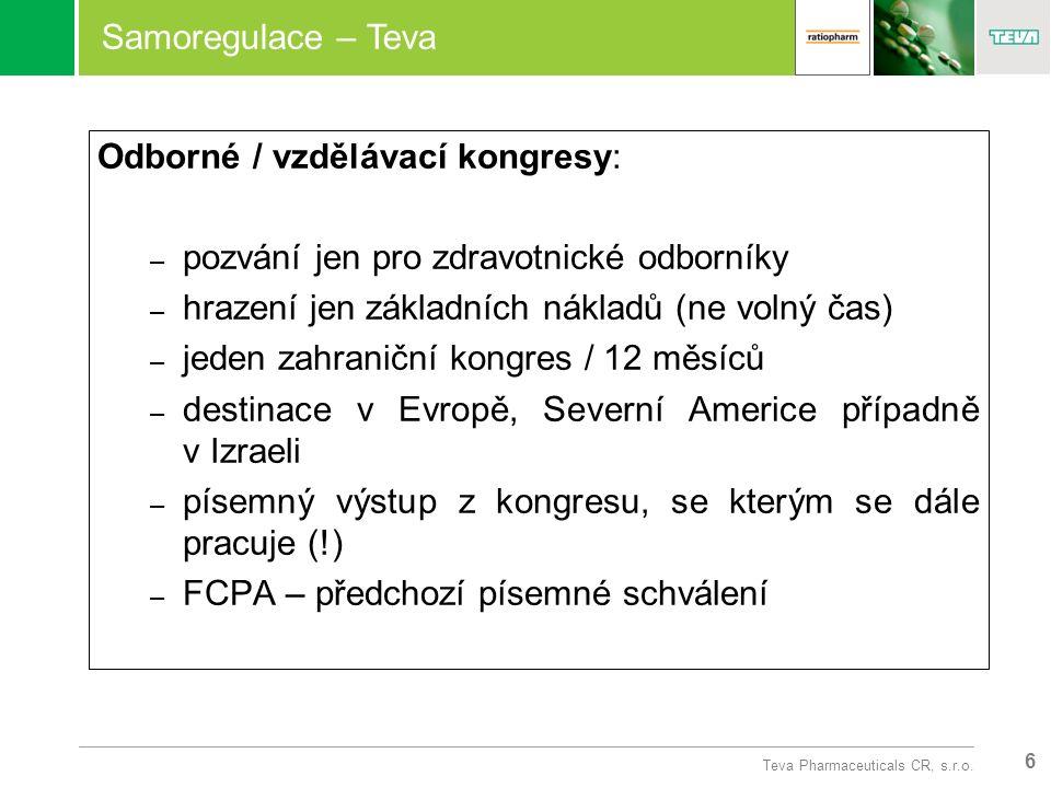 6 Teva Pharmaceuticals CR, s.r.o.