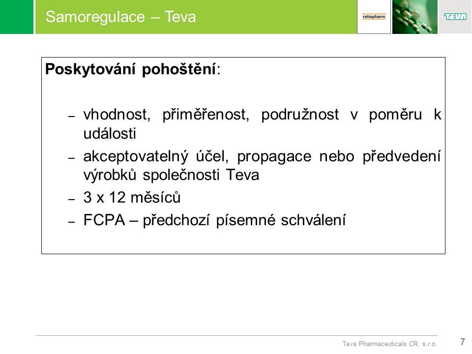 7 Teva Pharmaceuticals CR, s.r.o.