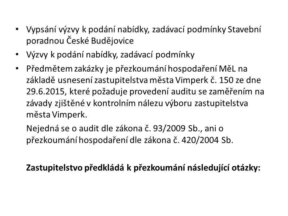 Zápis: Dne 13.9.2014 proběhla oslava 20 let společnosti, na tuto akci byly použity finanční prostředky společnosti MěL – 226 753,50 Kč.