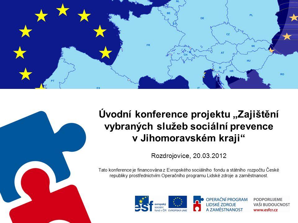 Program  Úvod, slovo radního PhDr.Jiřího Altmana  Informace o projektu - JUDr.