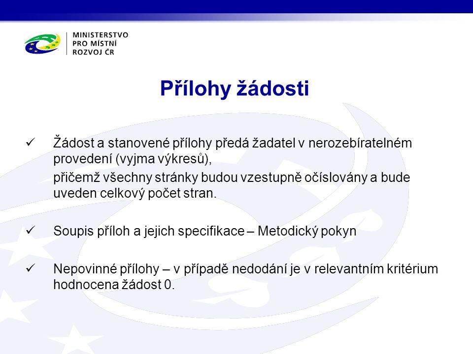 Proces hodnocení a schvalování Příjem žádostí 17.2.2012 Kontrola náležitostí Doplnění náležitostí do termínu stanoveném správcem Hodnocení žádostí Hodnotící komise 20.