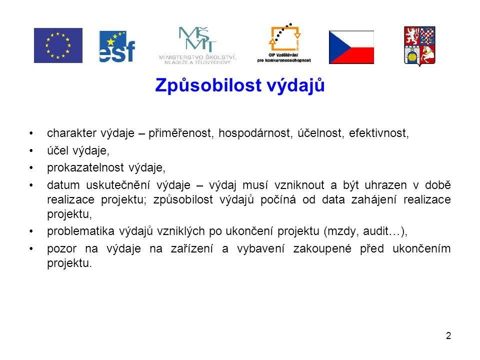 23 Účetnictví a dokladování Příjemce je povinen vést účetnictví v souladu se zákonem č.