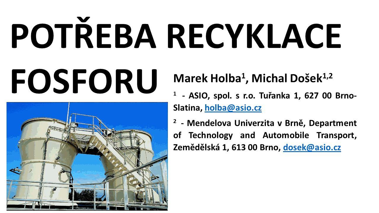 Marek Holba 1, Michal Došek 1,2 1 - ASIO, spol. s r.o.