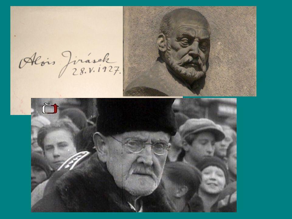 Rodný dům buditele, spisovatele a skladatele Františka Ladislava Heka v Dobrušce – stal se hlavní postavou Jiráskova románu F.