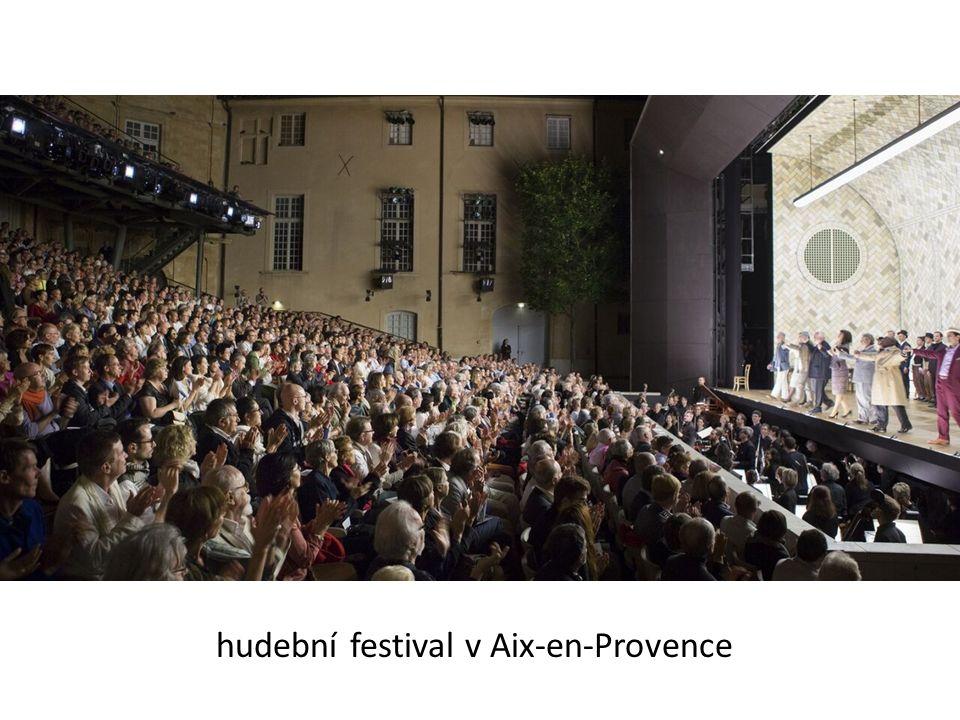 hudební festival v Aix-en-Provence
