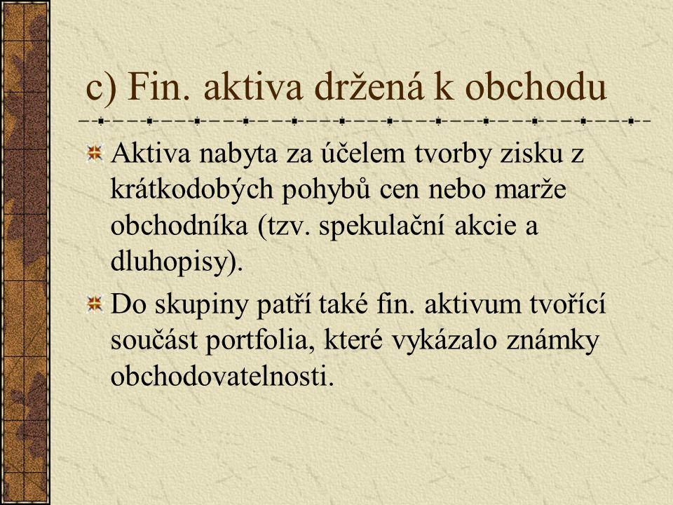 c) Fin.