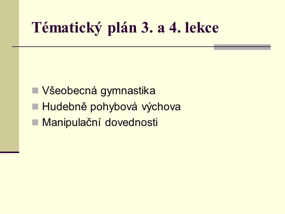 Všeobecná gymnastika (VG) Organizační forma gymnastických aktivit využívající systém gymnastiky k naplnění cílů, které jsou směřovány do oblasti sportu pro všechny (včetně školní tělesné výchovy) Znakem je vědomé vedení pohybu v prostoru a získávání specifických gymnastických dovedností Nabízí pohybové programy od základní pohybové průpravy až k formám, které umožňují pohybovou seberealizaci