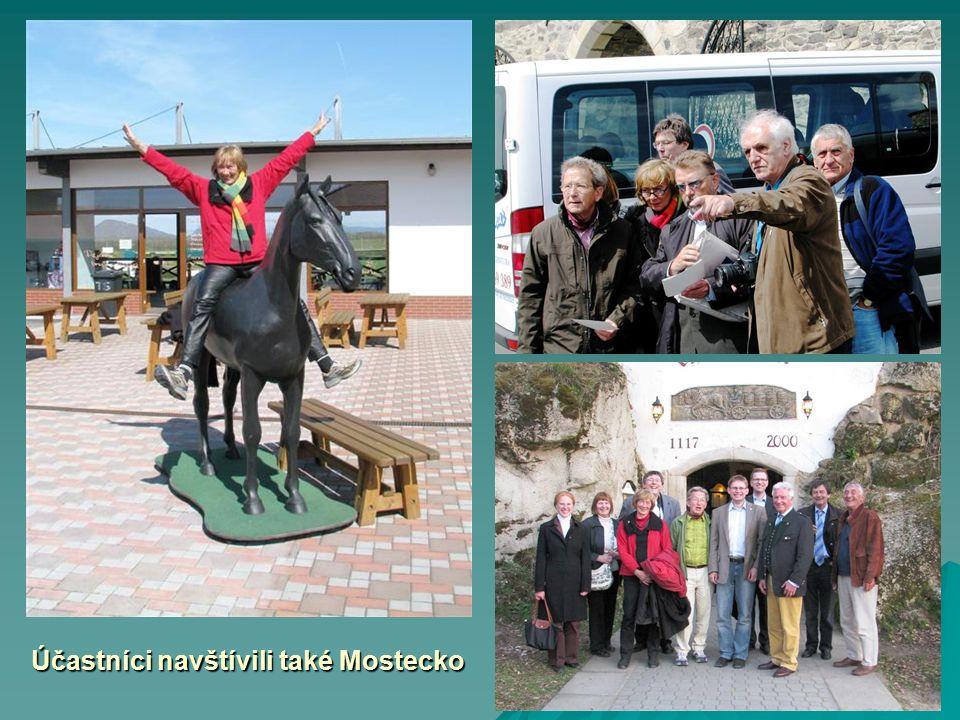 Účastníci navštívili také Mostecko