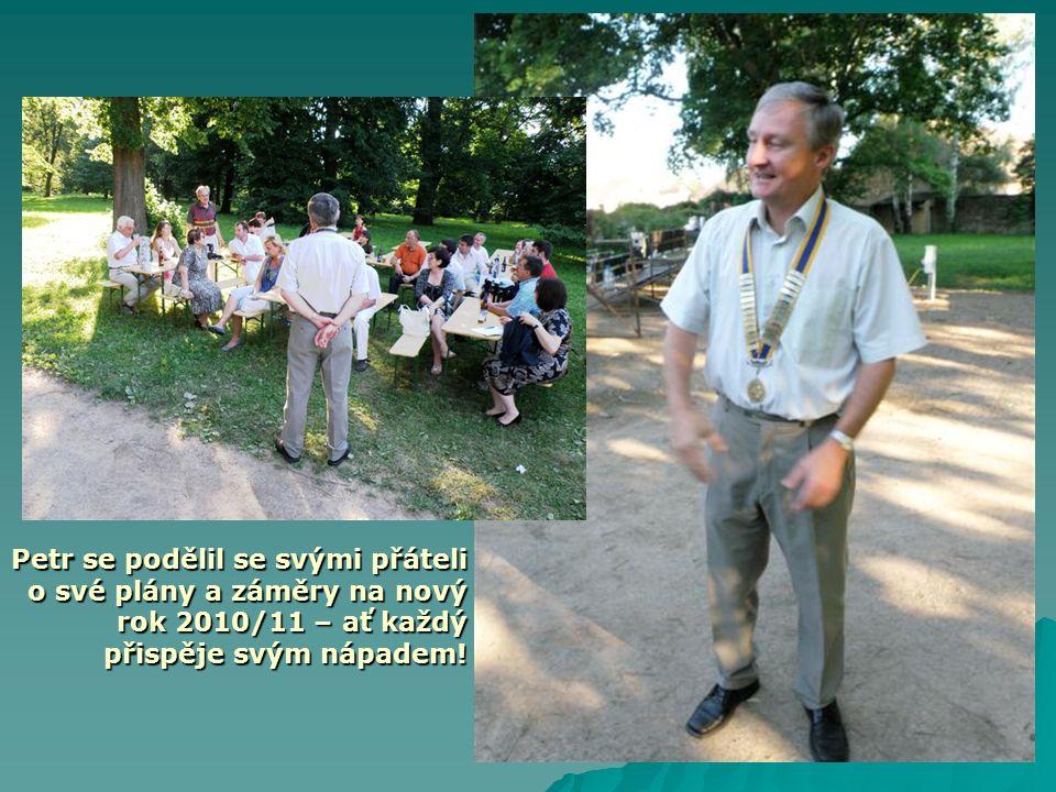 Petr se podělil se svými přáteli o své plány a záměry na nový rok 2010/11 – ať každý přispěje svým nápadem!