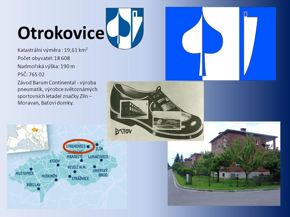 Uherský Brod Katastrální výměra : 52,06 km 2 Počet obyvatel: 17 533 Nadmořská výška: 251 m PSČ: 687 34, 688 01, 688 02 Výroba zbraní (1936) – Česká zbrojovka (ČZ), vaření piva (1894) – Janáček, Slovácké strojírny a.s.