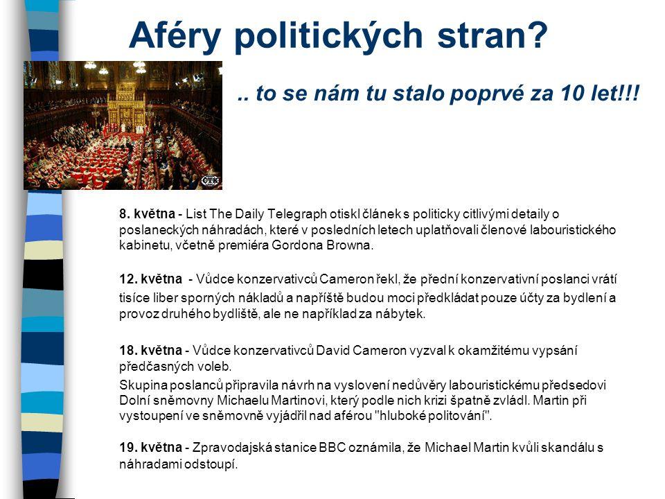 Aféry politických stran. 8.