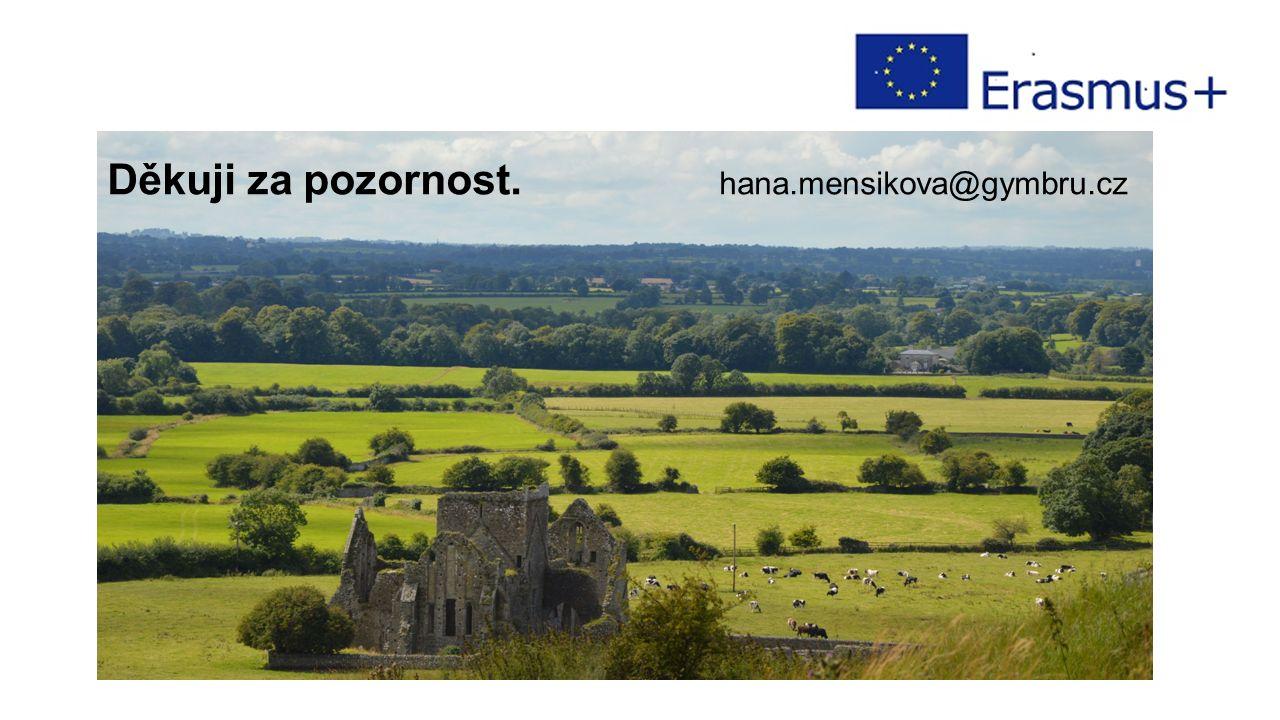 Děkuji za pozornost. hana.mensikova@gymbru.cz