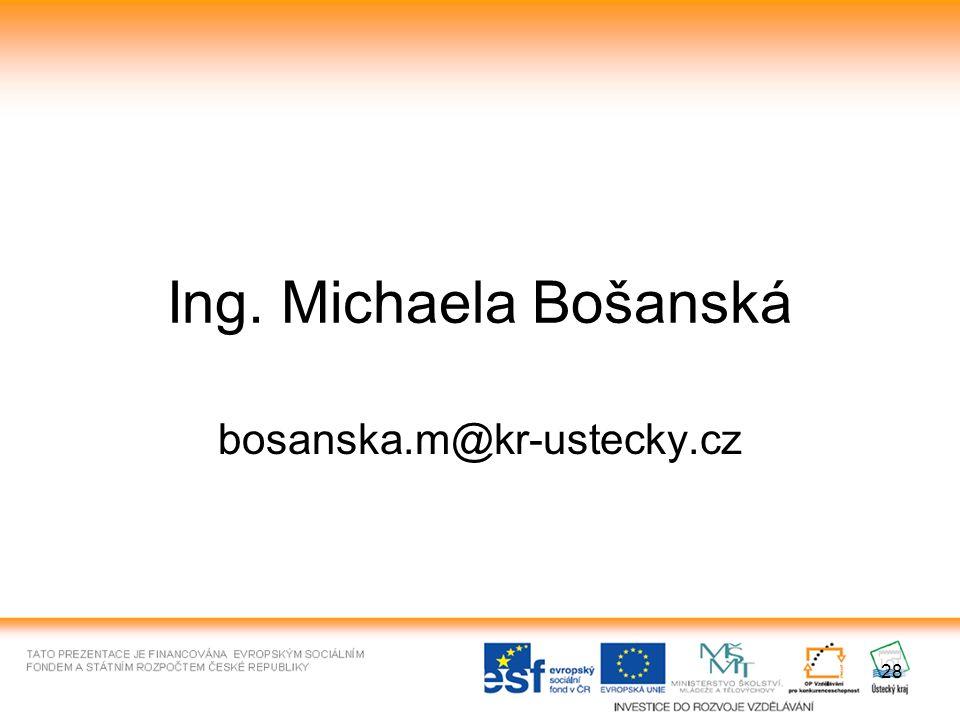 Ing. Michaela Bošanská bosanska.m@kr-ustecky.cz 28