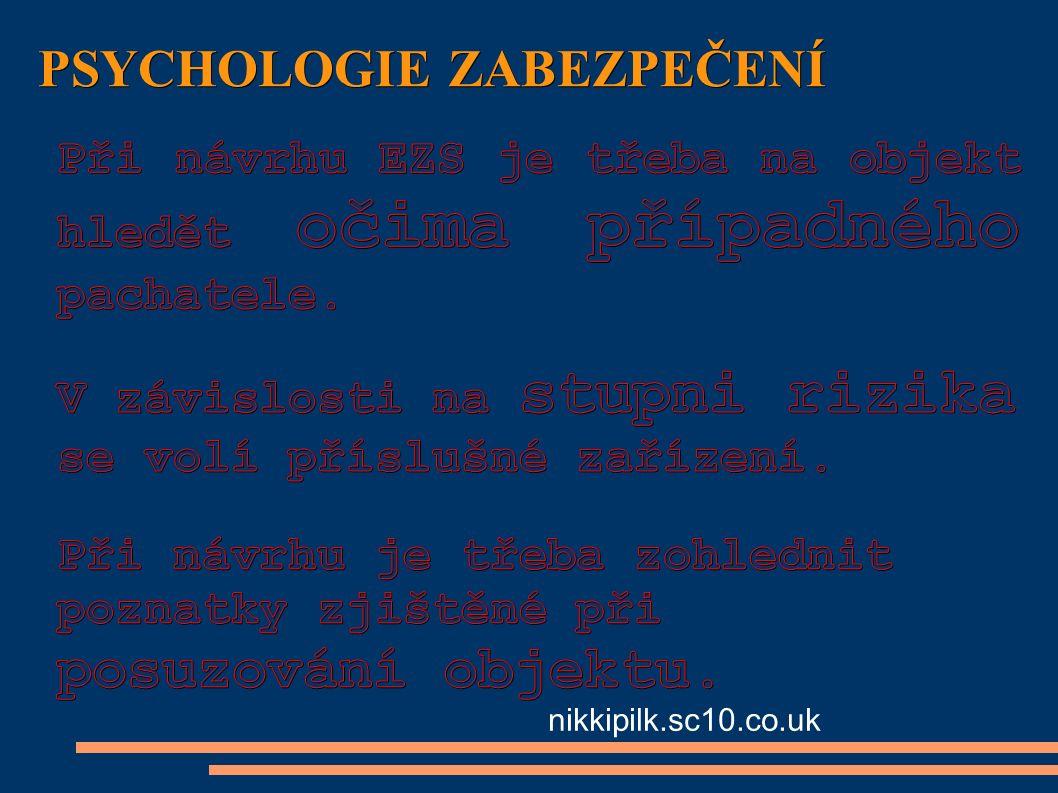 PSYCHOLOGIE ZABEZPEČENÍ nikkipilk.sc10.co.uk