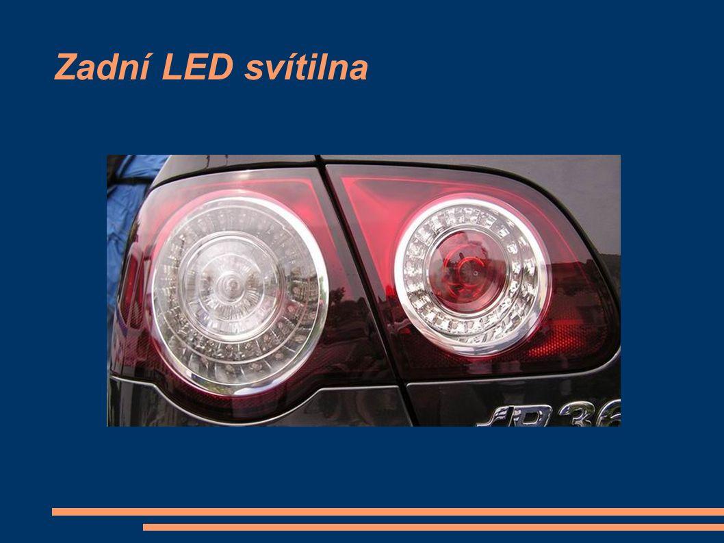 Zadní LED svítilna